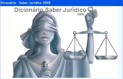 Dicionário Saber Jurídico 2008